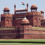 red fort in old delhi