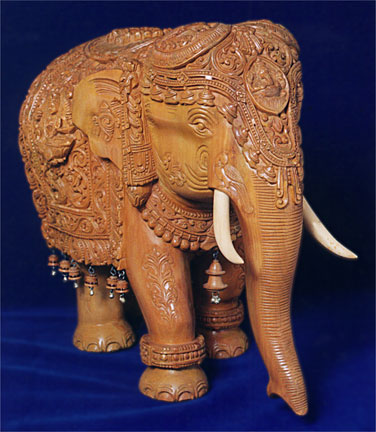 sandalwood carving