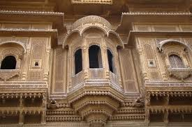 The architecture of rajasthan grand awe inspiring and unique for Balcony ki design