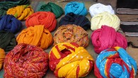"The bright, colorful turbans worn by the men in Rajasthan make for a captivating sight. Known as ""pagdis"" in local tongues, these turbans reflect the wearer's cast, culture and profession...."