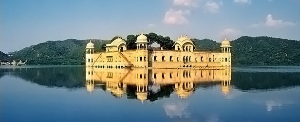 Located in the middle of Jaipur's Man Sagar Lake, Jal Mahal is an architectural marvel of Rajasthan. In 1596, the area was hit by severe famine and the ruler of...