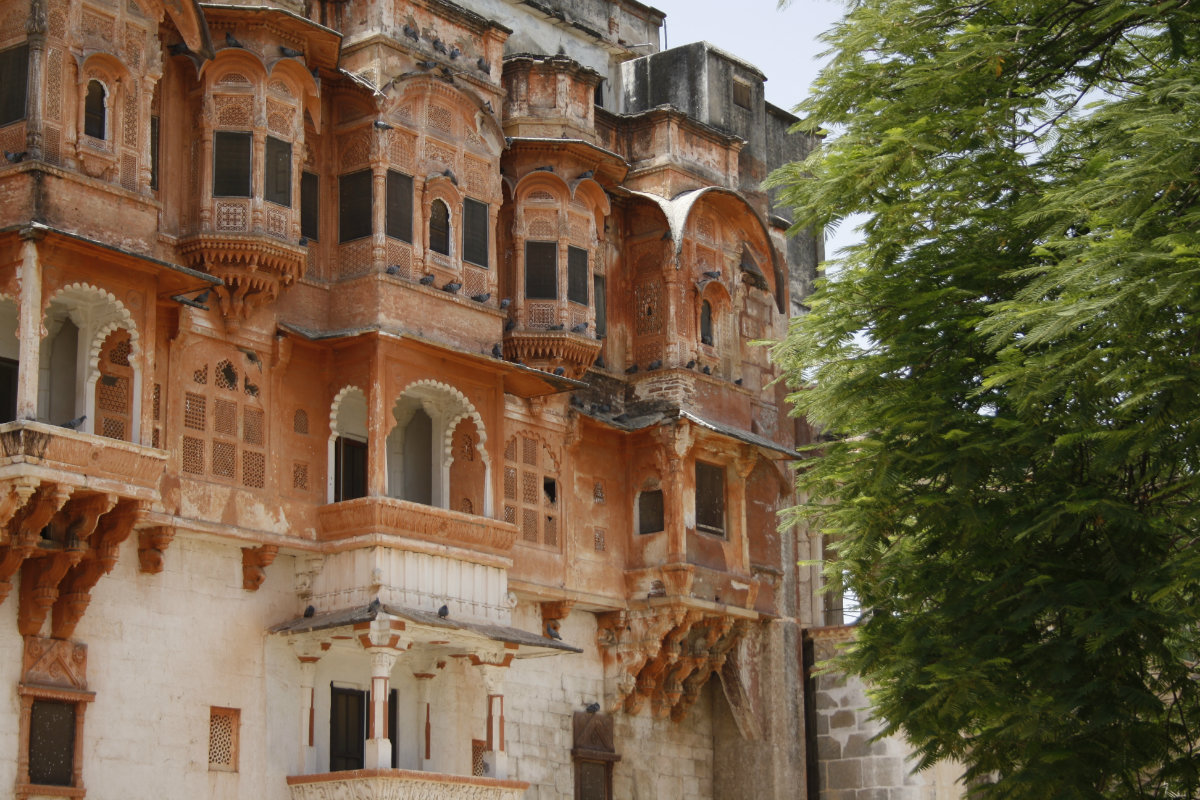 The Haveli's Facade