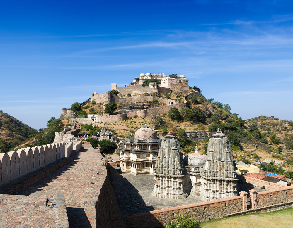 Kumbhalgarh Fort view (1)