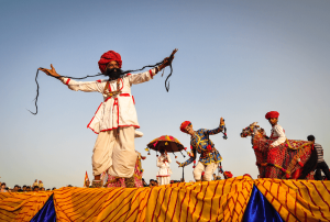 folk dance in Jaisalmer