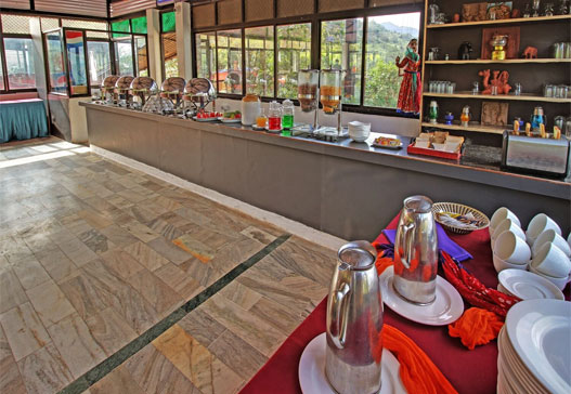 Indoor Dining at Kumbhalgarh